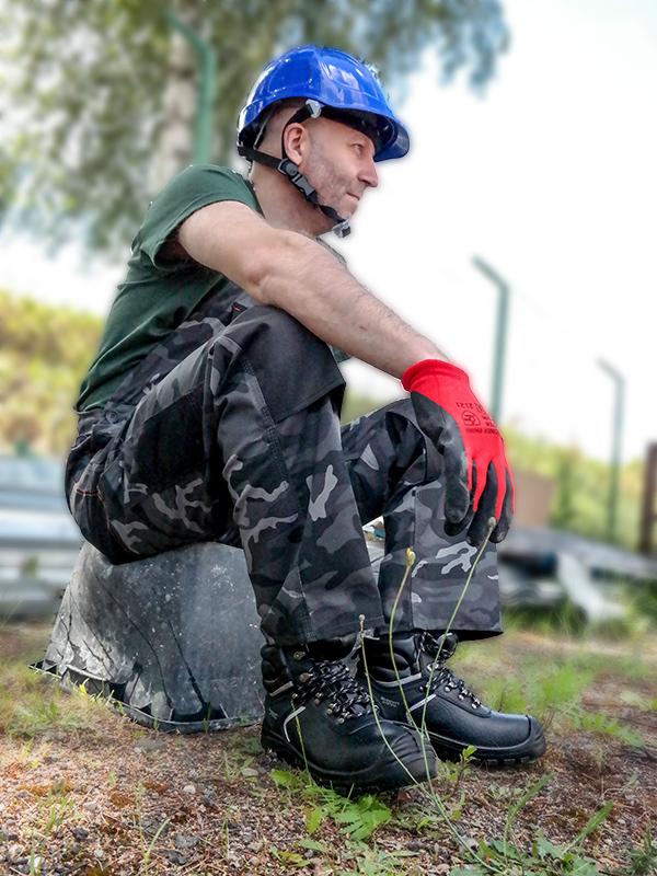 BHP Odzież robocza BETTER Cammo - ogrodniczki